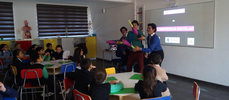 """Colegio instaura la """"Justicia Restaurativa"""" como una estrategia para mejorar la convivencia escolar"""