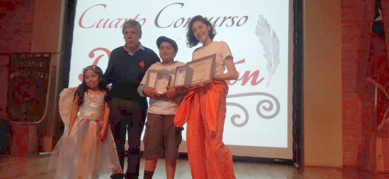 Estudiantes obtienen destacada participación en concurso de declamación