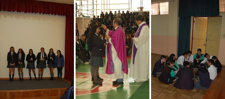 Colegio realiza diversas actividades de bienvenida al nuevo año escolar