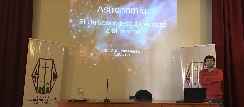 #Charlas170Años: Marzo de astronomía