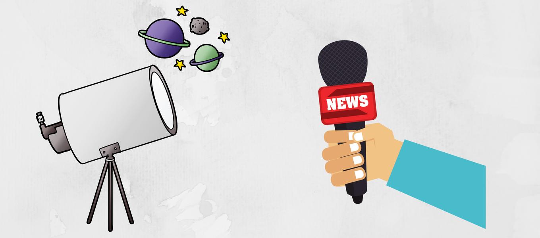 Periodista del Observatorio Gemini dictó charla sobre el periodismo en la astronomía