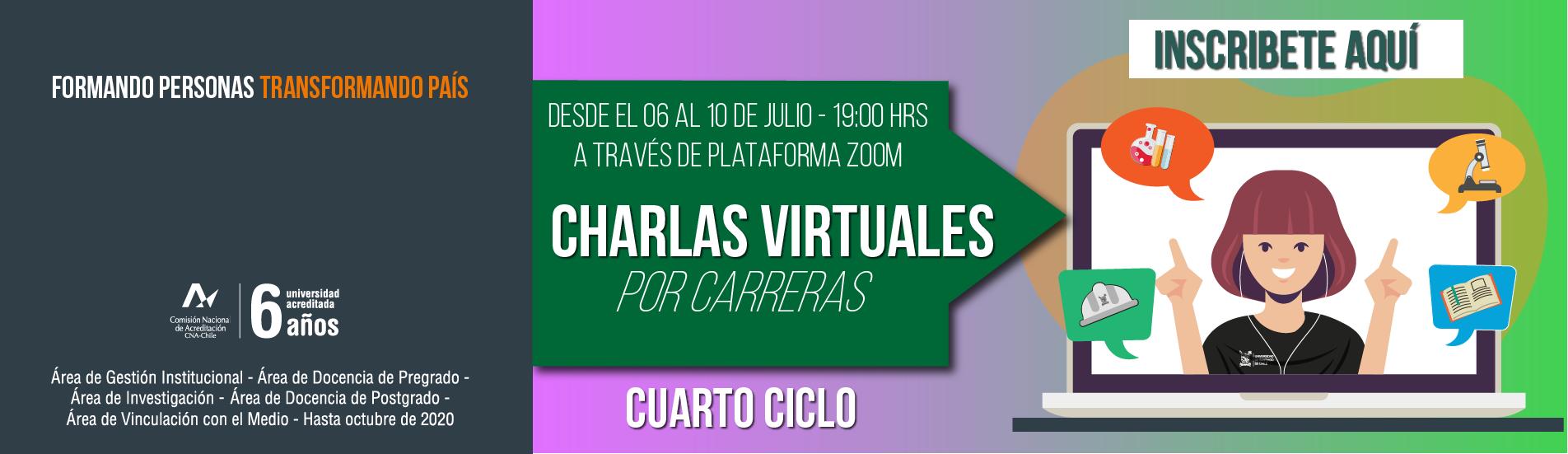 USACH: CHARLAS VIRTUALES