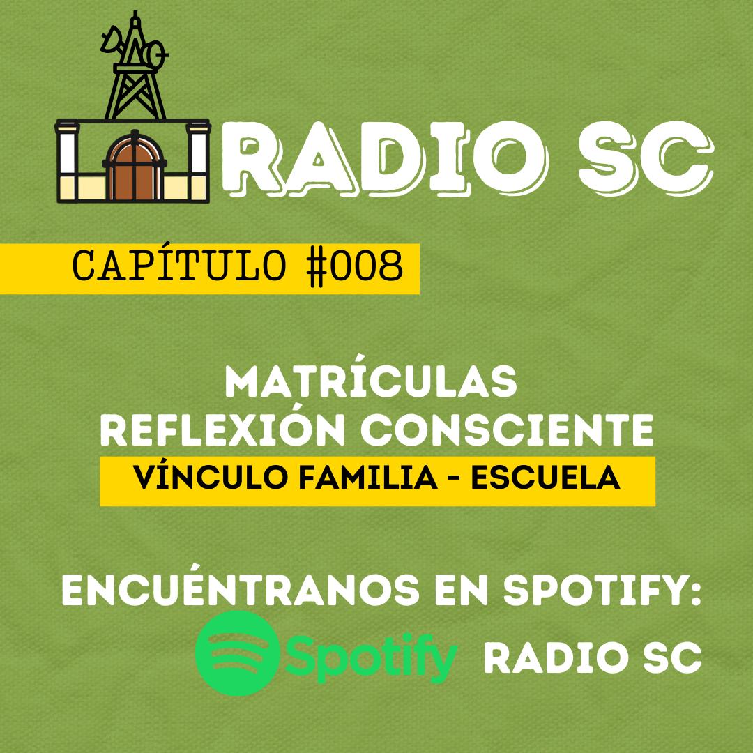 RADIO SC: VÍNCULO FAMILIA-ESCUELA
