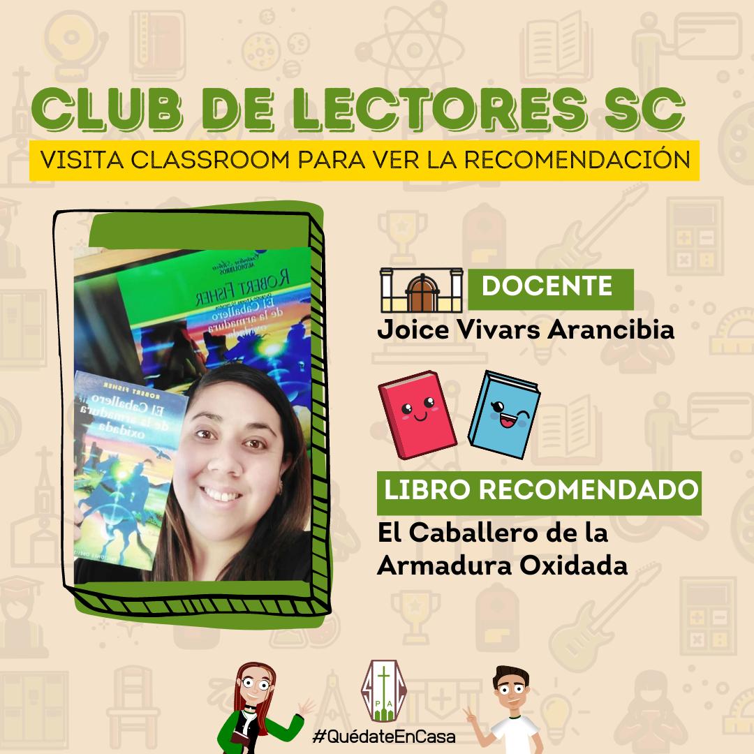 CLUB DE LECTORES SC: EL CABALLERO DE LA ARMADURA OXIDADA
