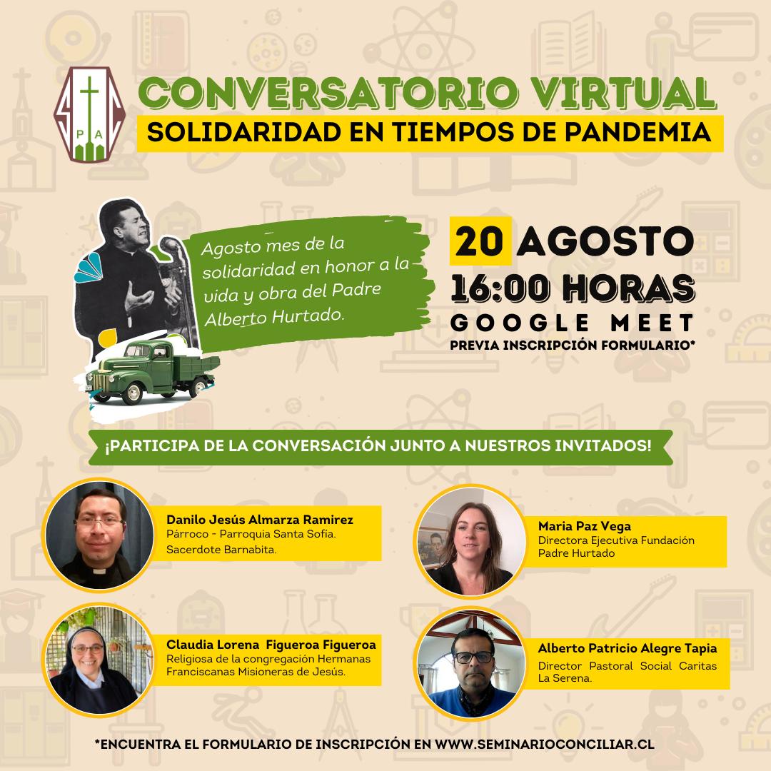 CONVERSATORIO VIRTUAL SOLIDARIDAD EN TIEMPOS DE PANDEMIA