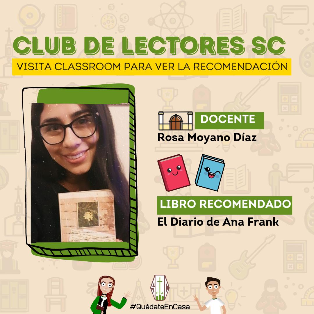 CLUB DE LECTORES SC: EL DIARIO DE ANA FRANK