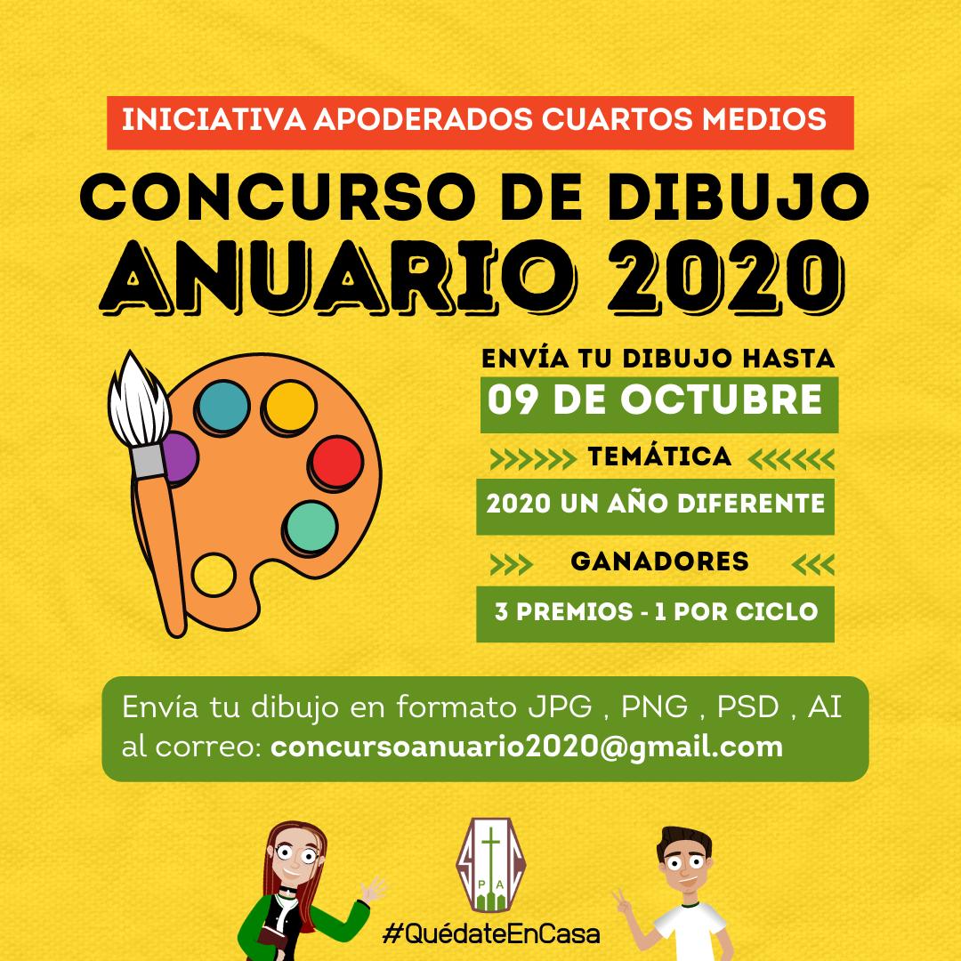 CONCURSO DE DIBUJO ANUARIO 2020