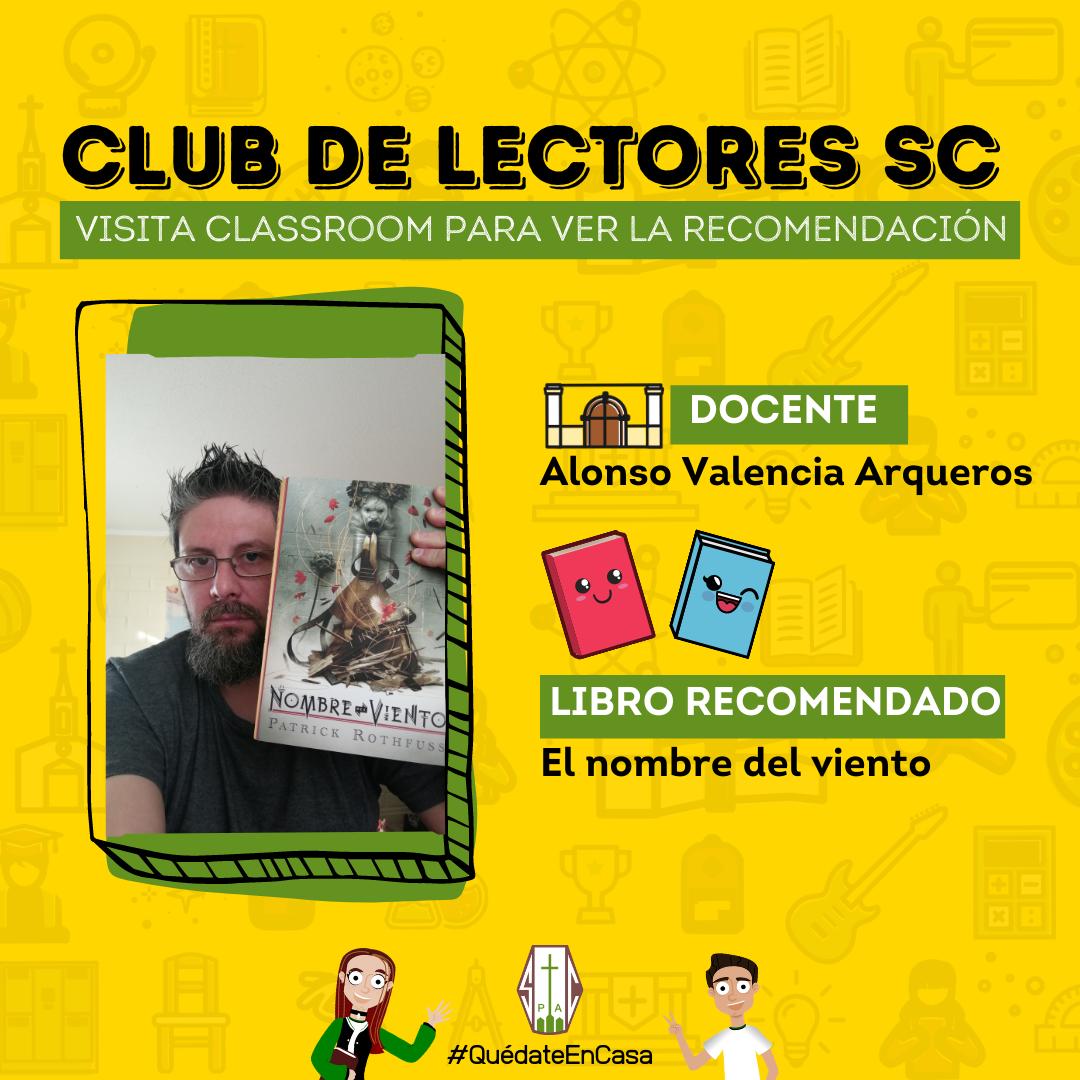 CLUB DE LECTORES SC: EL NOMBRE DEL VIENTO
