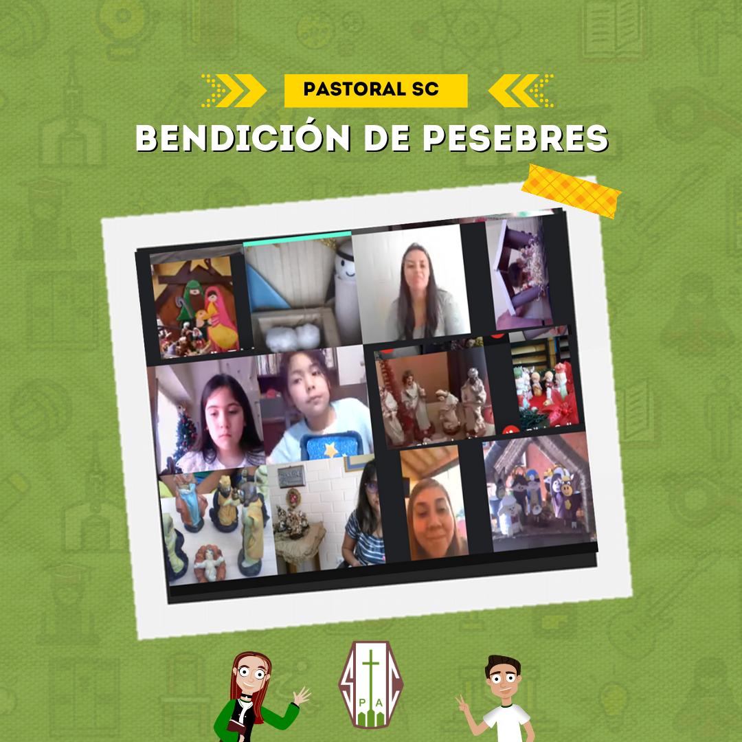 PASTORAL SC REALIZA BENDICIÓN DE PESEBRES