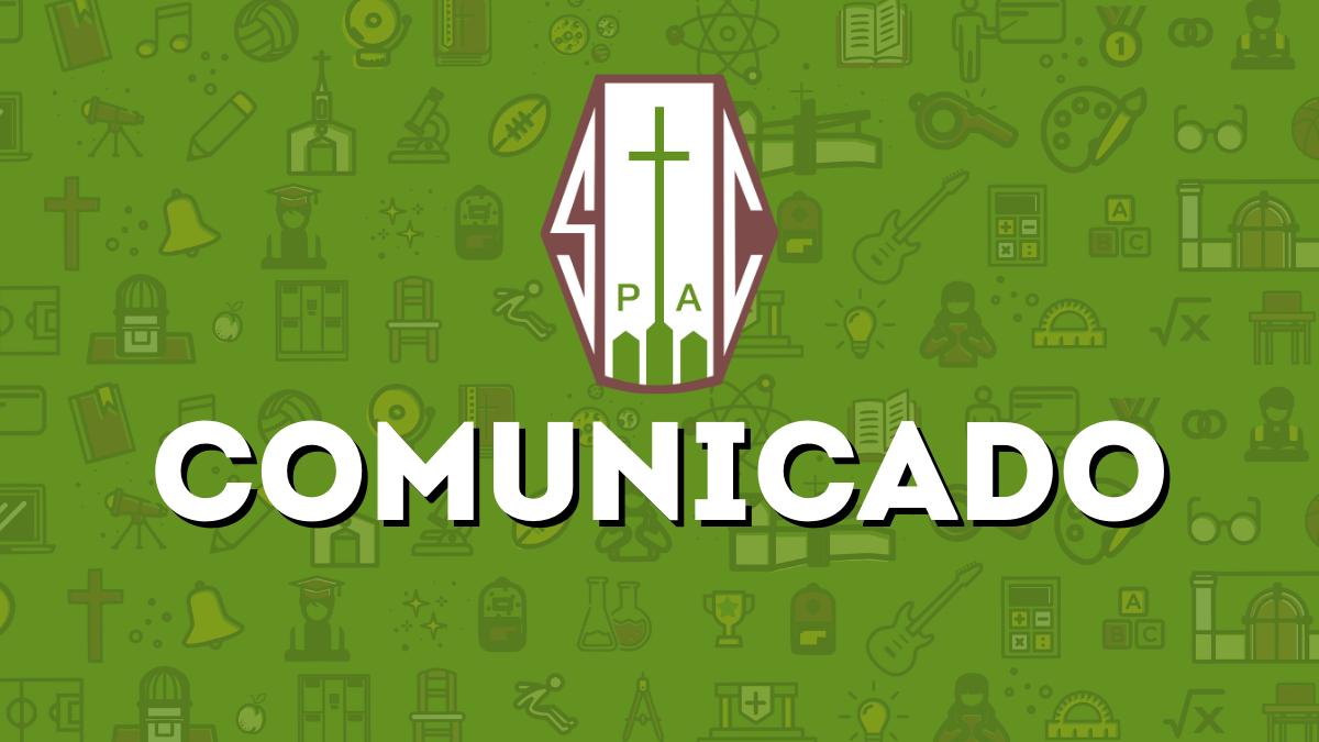 COMUNICADO INICIO AÑO ESCOLAR 2021