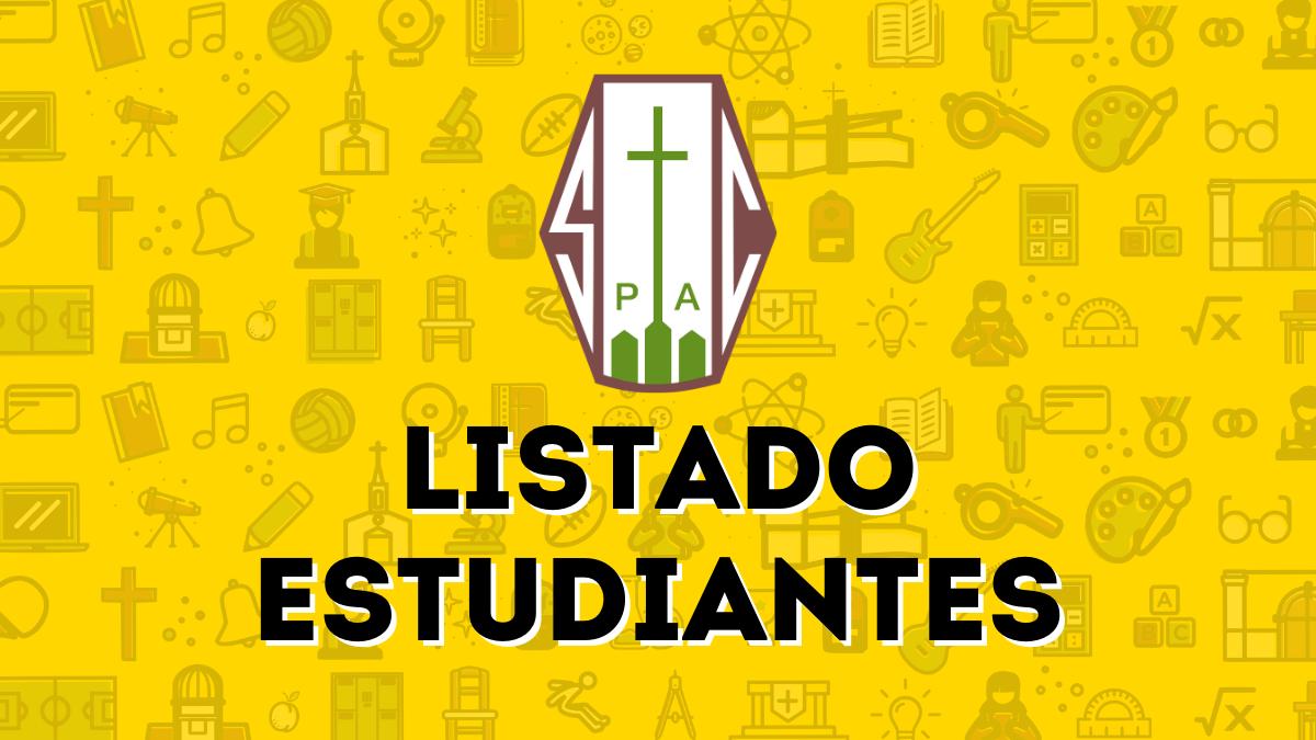 SEMANA 02: LISTADO ESTUDIANTES CLASES PRESENCIALES