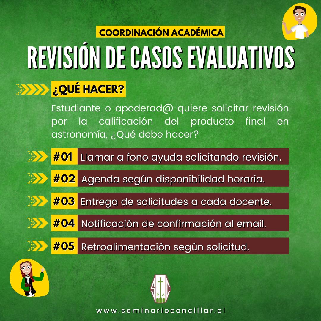 REVISIÓN DE CASOS EVALUATIVOS
