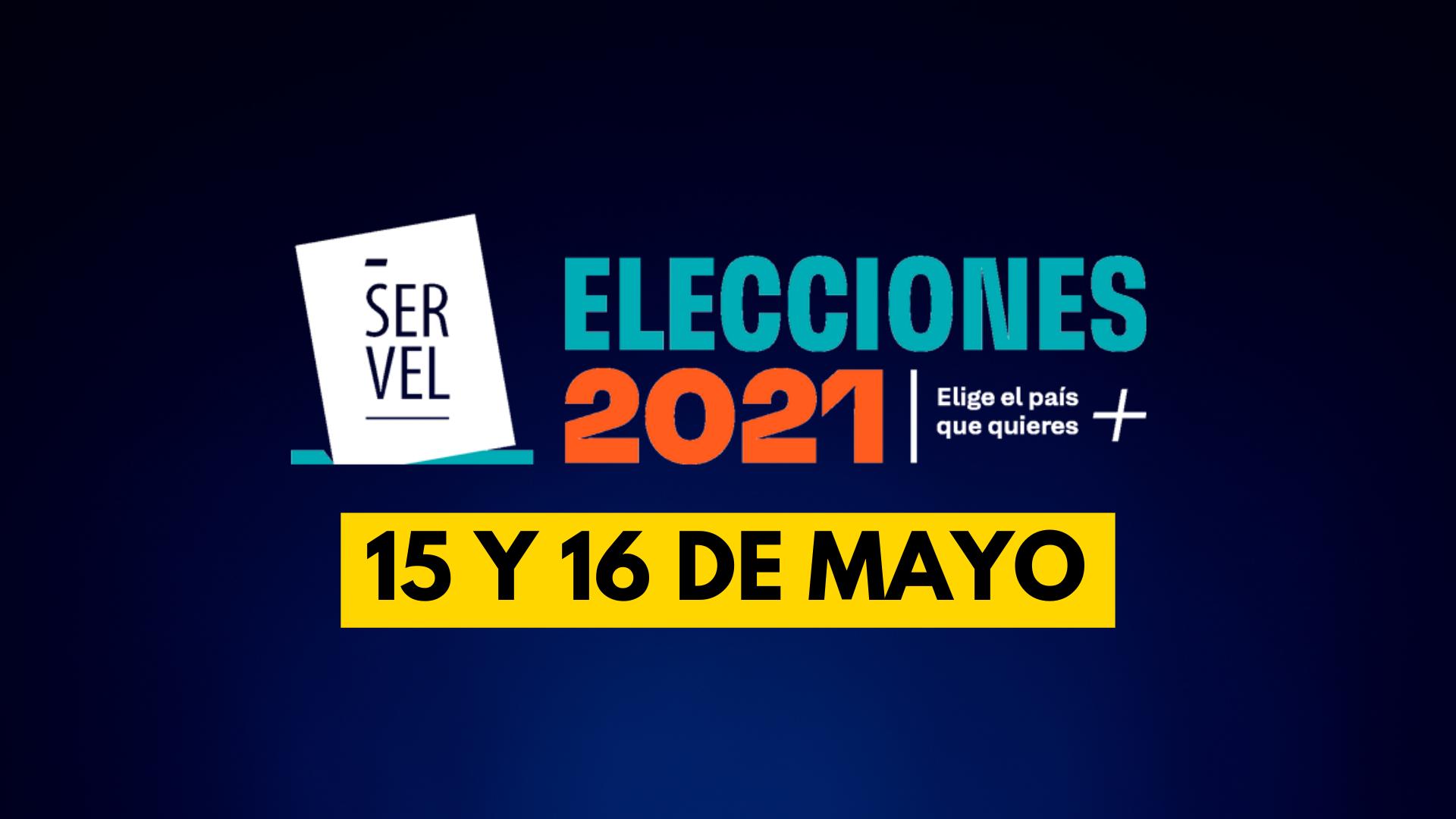 INFORMACIÓN RELEVANTE DE LAS ELECCIONES DE ESTE 15 Y 16 DE MAYO