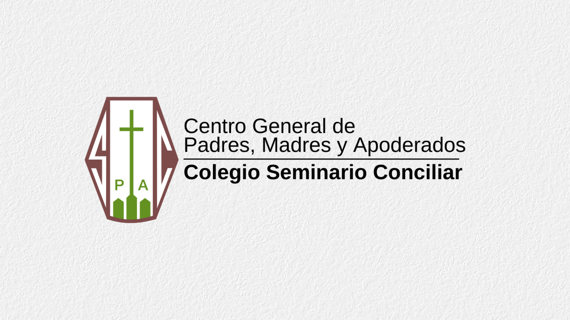 Condolencias CGPA Seminario Conciliar