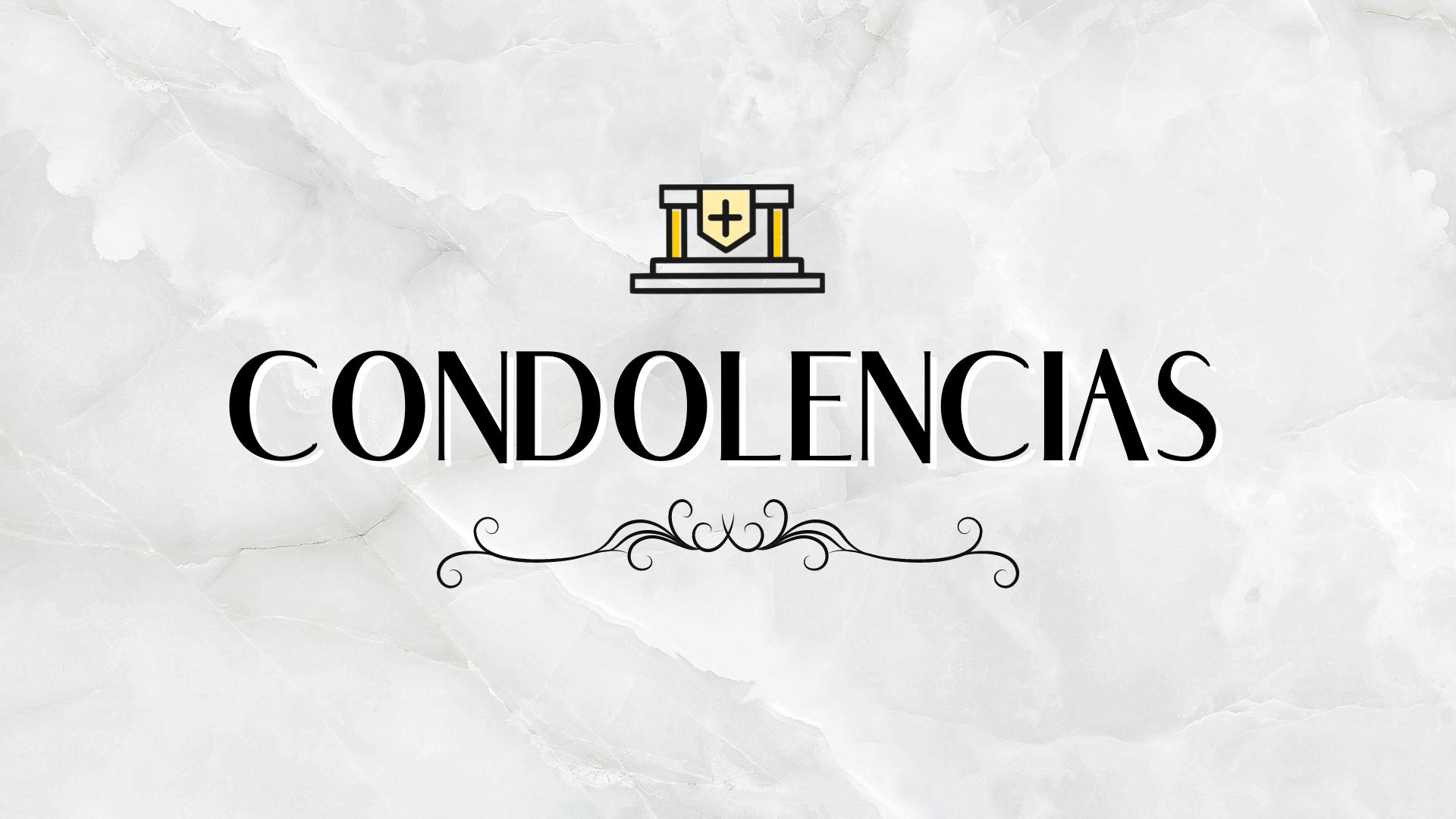 Condolencias Departamento de Turismo Municipalidad de Andacollo