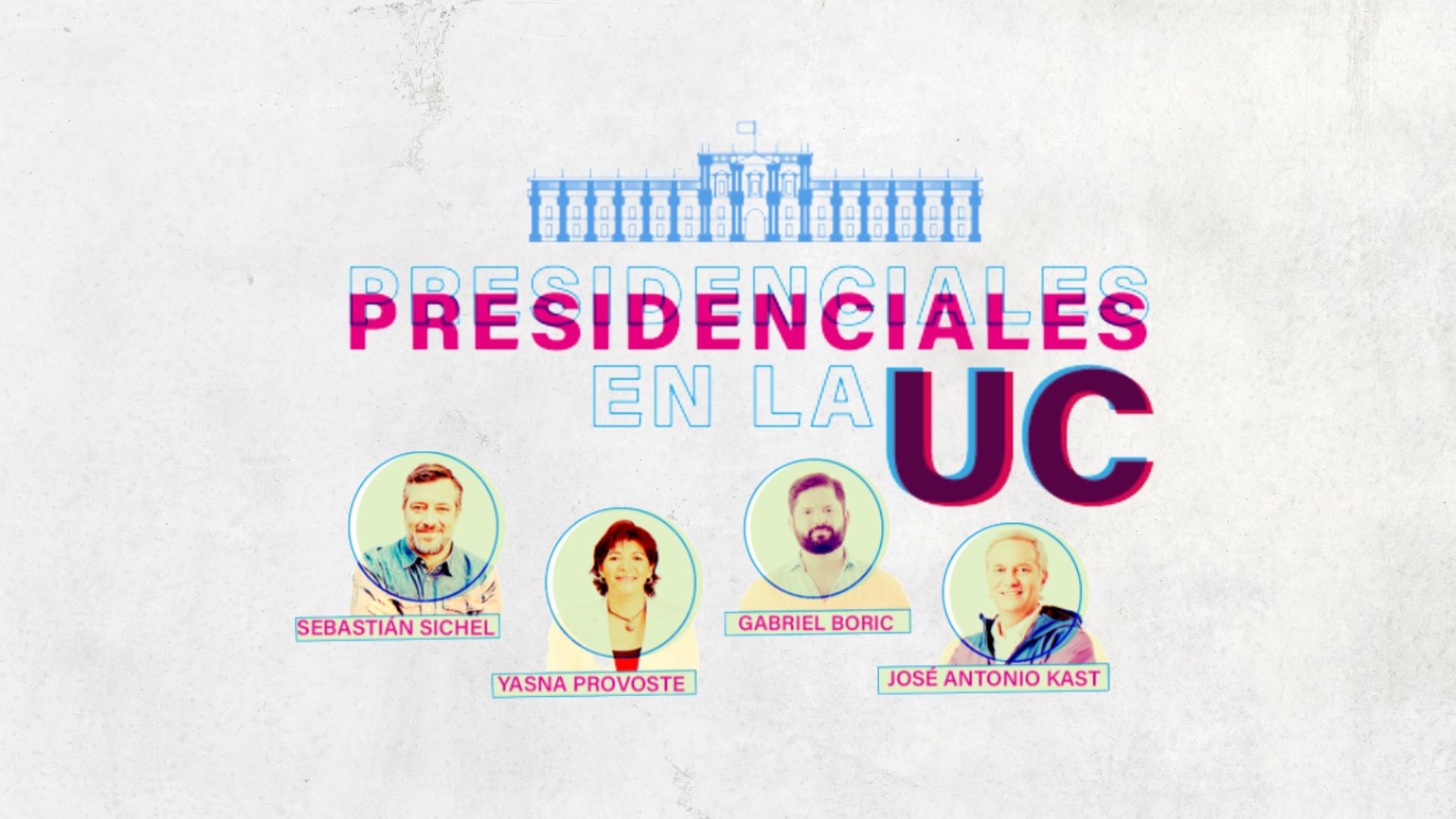 2º encuentro del ciclo 'Presidenciales en la UC': Yasna Provoste